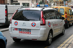 Transport d'organes | Citron C4 Grand Picasso (spottingweb) Tags: france car transport citron voiture picasso vehicle spotted van medic paramedic chu secours sang hopital spotting ch urgence intervention c4 bless victime vhicule organes transplantation gyrophare dondorgane greffes centrehospitalier grandpicasso spottingweb