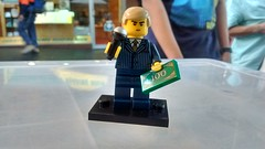 Donald Trump Lego Figure