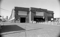 South Bank Normanby Rd 157 Montague Shipping Shed 1982  sheet 07  796 (Graeme Butler) Tags: yarra southmelbourne river industry history heritage design culture church architecture melbourne victoria australia