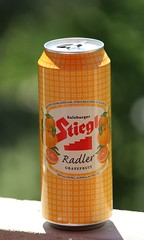 mmmm....near beer (jmaxtours) Tags: beer grapefruit mmmmbeer salzburgaustria nearbeer stieglradler stiglebrauerie