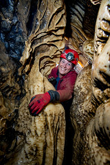 _GH7649 (ChunkyCaver) Tags: derbyshire cave caving calcite giantshole caver