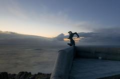 Faro Nariga. (Cobalto :)) Tags: lighthouse faro atardecer galicia nariga