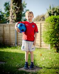 The future of English Football. IMG_3875 (s0ulsurfing) Tags: s0ulsurfing 2016 isle wight boy football garden