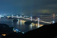 Shimanami Kaido (peaceful-jp-scenery) Tags: simanamikaido kirosanobservationpark observatory night bridge         sony 7r a7r ilce7r emount fe24240mmf3563oss