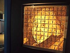 Einstein is toast (stephenweir) Tags: toronto ontario art museum einstein ripleysbelieveitornot ontariosciencecentre artgalleryandmuseums einsteinistoast burnttoastart wonderbreadmasterpiece imaginationisnoreimportantthanknowledge