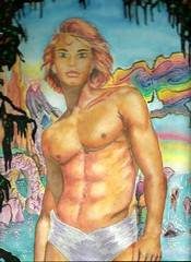 myman (regina11163) Tags: redhairedman exoticlandscape sexy paradise sunlight unreal fantasy sexyman
