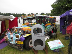 Philippines style Jeepney at Latitude (Ian Press Photography) Tags: music festival suffolk jeep philippines transport latitude jeepney 2014