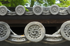 Roof Tiles (Adrin Prez) Tags: roof japan tile japanese roofing