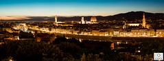 Florenz Skyline (rene_dresden) Tags: italien italy canon sonnenuntergang urlaub firenze toscana michelangelo piazzale florenz toskana nachtfotografie 70200mm langzeitbelichtung fiorence
