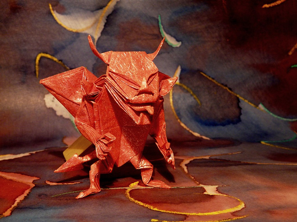 Devil By Jun Maekawa Andrea Borsa Tags Red Paper Origami