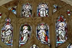Terrington St John, Norfolk -St John the Baptist - Stained Glass (Glass Angel) Tags: church norfolk angels stainedglasswindow stjohnthebaptist terringtonstjohn terringtonstjohnnorfolkstjohnthebaptist