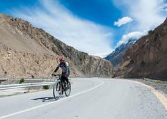 Cycling On KKH (Muhammad Hamza Niazi) Tags: pakistan beautiful cycling kkh hunza passu gilgit northernareapakistan rashit chipurson