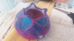 20160710_152036 (Quirky Workshops) Tags: felt vessels marieke tomlin textie felting workshops cumbria northwest lake district greystoke cycle cafe