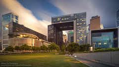Government Offices, Admiralty, Hong Kong (William C. Y. Chu) Tags: city sunset urban building architecture hongkong cityscape dusk central offices hongkongisland admiralty governmentoffices   centralgovernmentoffices