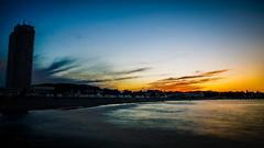 DSC02474-HDR (kornflakezzz) Tags: strand kste beach coast lbeck luebeck travemnde sunset sonne sun sonnenuntergang dmmerung meer ocean colors ostsee baltic sea maritim belichtung sony alpha a57 sigma