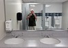 One Afternoon in a Men's Room in St. Luke's Hospital (ricko) Tags: selfportrait mirror sinks urinals toilet 217366 2016
