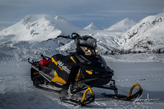 Sled & Ski (special.k80731) Tags: alaska sled valdez snowmobile skidoo polaris snowmachine thompsonpass