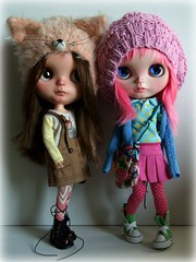 Peanut and Zara