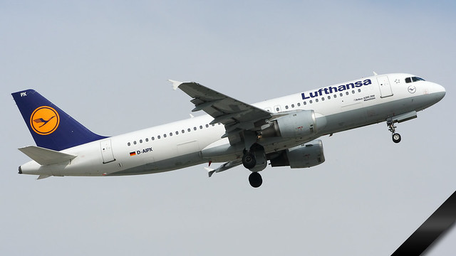 † Airbus, A320-200, Lufthansa, D-AIPX, EDDM (sadly crashed on March 24th 2015)