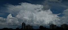 (IgorCamacho) Tags: sky panorama storm nature paraná brasil clouds natureza céu southern cielo nubes tormenta nuvens cb sul temporal anvil cumulonimbus tempestade
