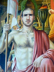 Eric Cantona (velton) Tags: city red museum painting manchester eric king united oil devil cantona