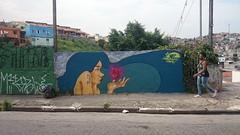 Só preciso de coisas que caibam na palma de uma mão... (Ψ Dimy SP) Tags: streetart brasil graffiti amor sãopaulo sp vida coração cabelo brasilândia somospobre dimysp