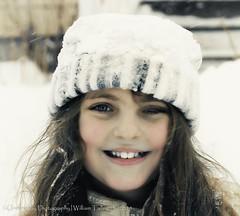 Snow Crown 31/215 (uselessbay) Tags: winter portrait digital portraits children nikon fullframe blizzard uselessbay 2015 d700 uselessbayphotography williamtalley