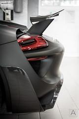 Porsche 918 Spyder (*AM*Photography) Tags: black car nikon automotive spyder exotic german porsche hybrid rare matte spoiler supercars 918 d3200 hypercar worldcars