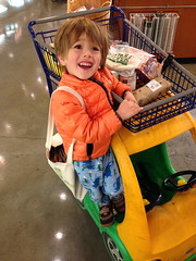 A garbageman. (chad_k) Tags: toddler colorado denver wholefoods jammies ingram garbageman