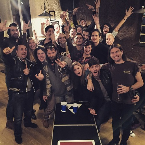 Great party for #DreamersDontSleep 😄 love u all @dreamshade_band