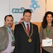 Showtel Stuart Derricott and Lore Boccanfuso AvailPro with Stephen McNally, IHF President