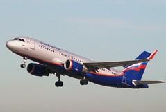 VQ-BSL - Airbus A320-214S - AEROFLOT (Hoddle747) Tags: airbus su a320 aeroflot dus