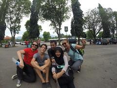 Photo de 14h - Borobudur avec Iggy, Kumis et Dian (Indonésie) - 07.03.2015