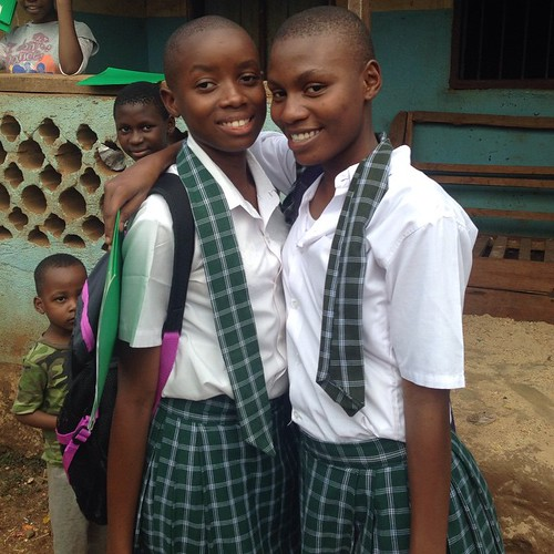 "Anna and Jackie are so excited to be entering form 2 this year and send their sponsors Katherine and Sarah all their love for making it possible. #sponsorachild #makeadifference • <a style=""font-size:0.8em;"" href=""http://www.flickr.com/photos/59879797@N06/16592606287/"" target=""_blank"">View on Flickr</a>"
