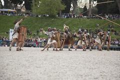Natale di Roma 2015 (Paolo Del Rocino) Tags: rome roma army ancient circo 21 battle caesar romano antica arena empire aprile natale legion massimo gladiator storico gladiatore corteo cesare esercito impero rievocazione legioni