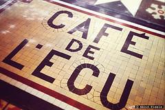 "2013-08 Altijd welkom bij Cafe de L'Ecu"" (Malesherbes/FRA) (About Pixels) Tags: france hotel centre text frankrijk fra augustus specials ecu 0805 malesherbes mozaïk 2013 zomerseizoen collecties mnd08"