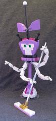 XJ4 (lingonkart) Tags: girl robot lego sister cartoon prototype robotgirl teenage xj wakeman moc xj4