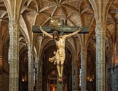 Crucificado de Belem (Javier Martinez de la Ossa) Tags: portugal lisboa lisbon gothic belem gtico manuelino crucificado monasteriodelosjernimos nikond700 nikkor2470 javiermartinezdelaossa