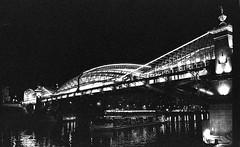 IMG20 (Kirill Gutin) Tags: bridge bw classic film river fuji russia moscow voigtlander bessa bank rangefinder 1600 mc neopan nokton 3514 r2a