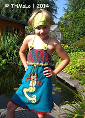 Marylou (TriMaLo #IndiWieDuelles {Web:Design;}) Tags: world marylou beate farbenfroh mannes prinzessin farbenmix tunika janeas häkeltunika zwergenschön mixshirt hippme