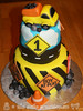 Construction Themed Birthday Cake