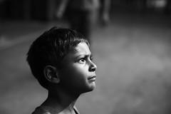 Child Beggar (sparksy2k14) Tags: blackandwhite bw india station canon eos child delhi beggar 5d