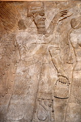 British Museum, Artifacts, Assyrian -006 (haimanti.weld) Tags: uk england london museum britishmuseum 2015 nikond5100 2015springbreaklondontrip