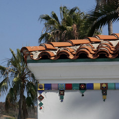 Arch Tile Details (lefeber) Tags: california roof architecture island catalina palmtrees tiles gateway avalon