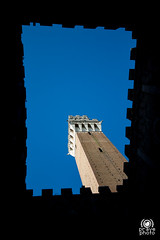 Torre del Mangia (andrea.prave) Tags: italien sky italy tower italia torre cielo tuscany siena toscana toscane italie toskana  torredelmangia           discovertuscany visittuscany