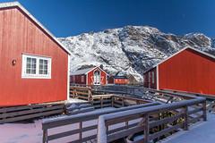 Rorbu in Nusfjord (Jonathan Haider) Tags: norway lofoten lofotenislands norvge rorbu nusfjord