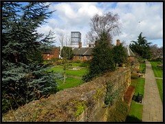Lady Herberts Garden and the remains of Coventry's 14th century city wall. (nexapt101) Tags: coventry citywall ladyherbertsgarden