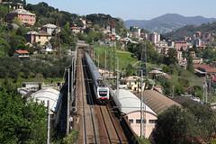 Thello parte prima... (Maurizio Zanella) Tags: italia trains genova railways fs trenitalia ferrovia treni thello trasta ec143 e402b108