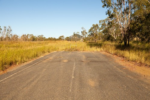 Alligator Creek Former Alignment