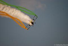 Scandinavian Airshow Grumman G-164 Ag-Cat (Debarka Banik) Tags: india geotagged bangalore february karnataka biplane grumman 2015 wingwalkers aeroindia yelahanka agcat grummang164 g164 yelahankaairforcestation scandinavianairshow aeroindia2015